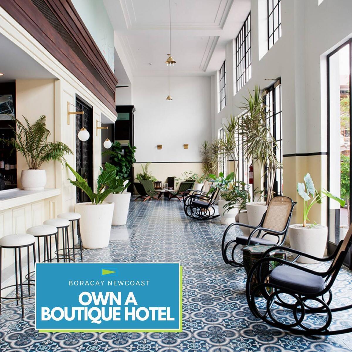 Boracay Newcoast Boutique Hotel Interior