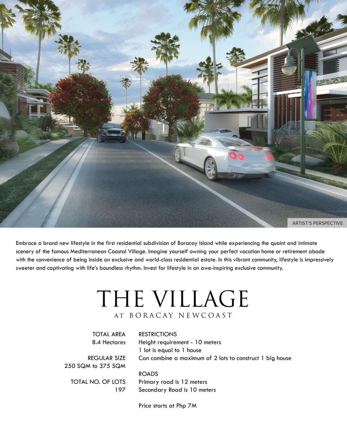 New Coast Village Brief Info