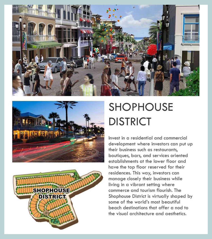 Boracay Newcoast Shophouse Brief Info