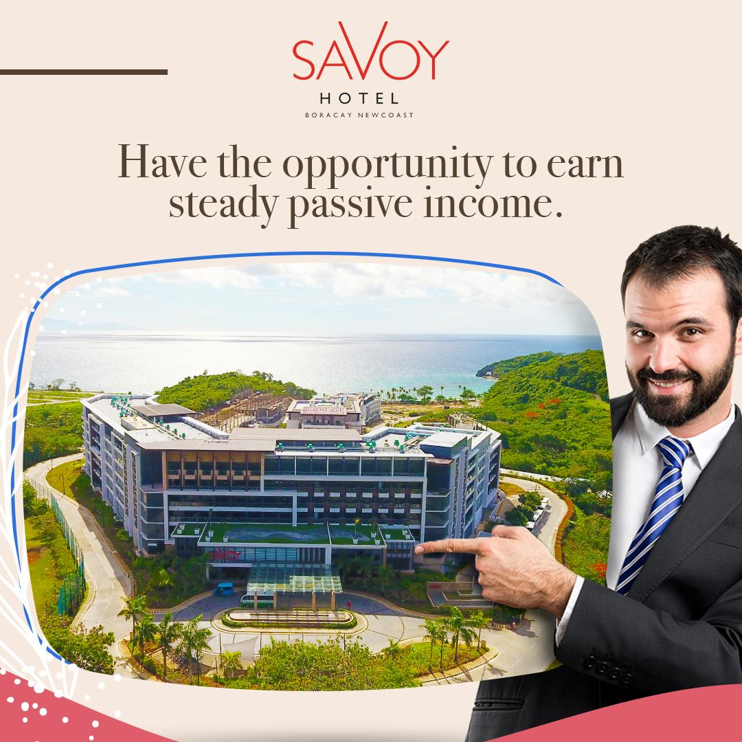 Savoy Hotel Boracay Pasive Income