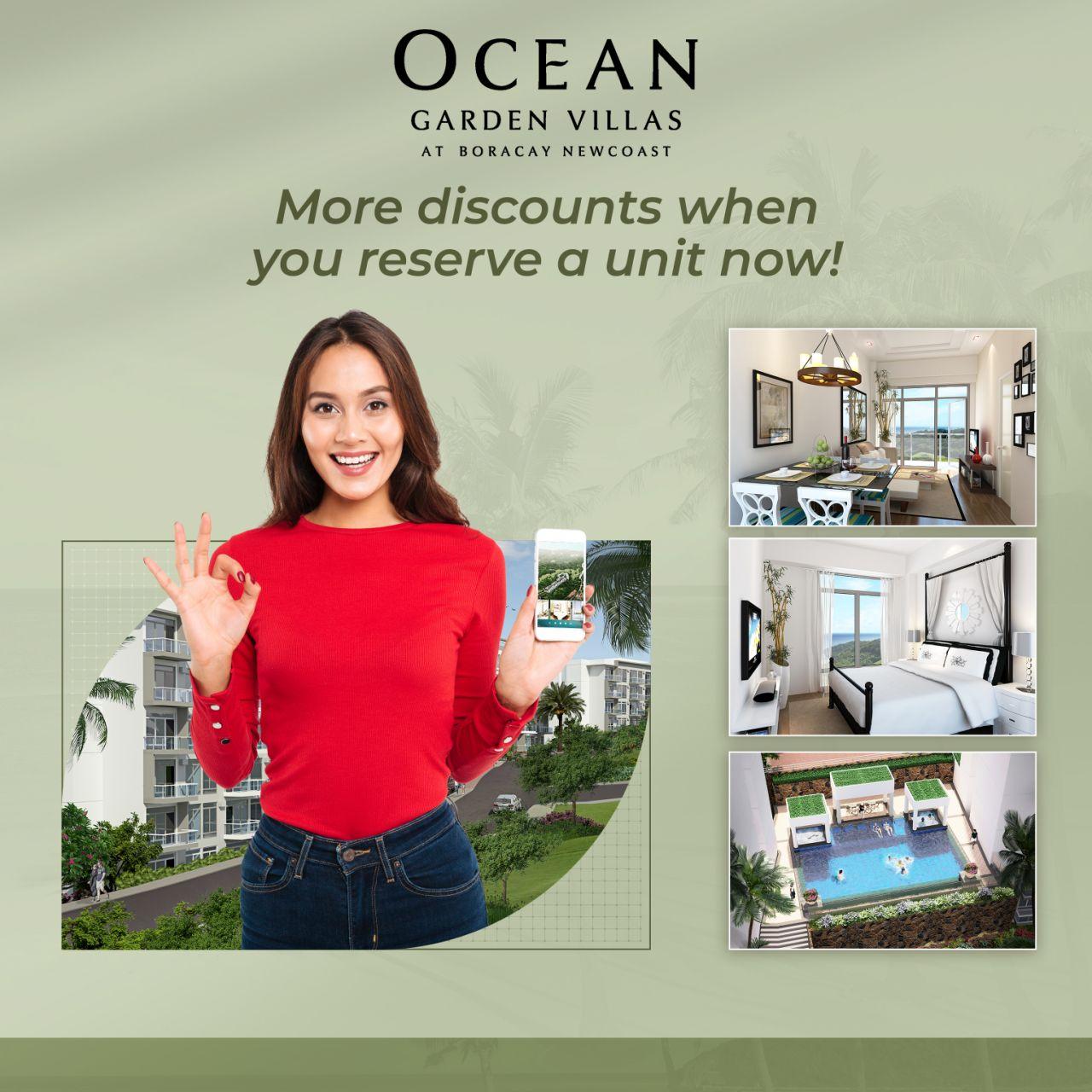 Ocean Garden Villas Discounts