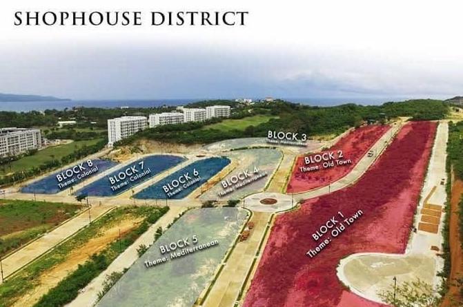 Boracay Newcoast Shophouse Dev Plan