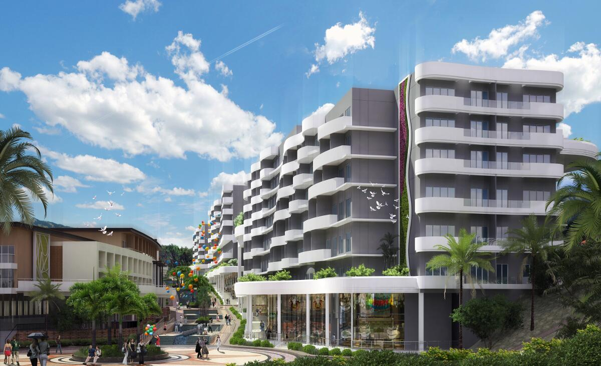 Chancellor Hotel Boracay Building