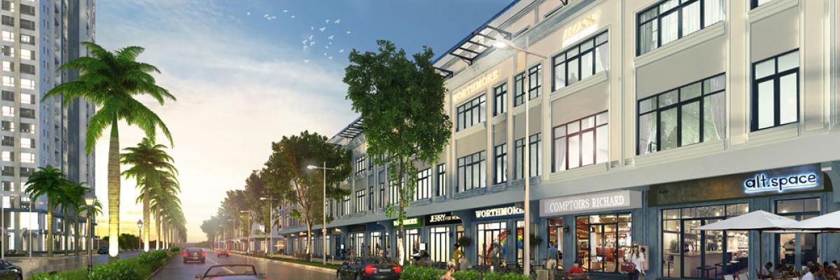 Shophouse District Development Plan Street